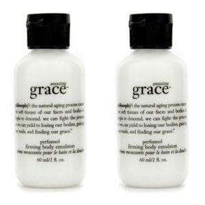 NEW Amazing Grace Firming Body Emulsion Set of 2